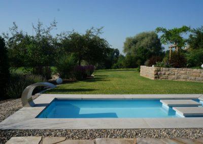 FROMMER gartenreich - Gartenanlage mit Pool