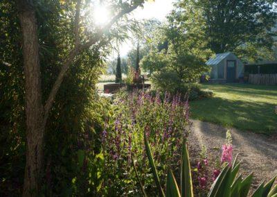 FROMMER gartenreich - Gartenanlage mit Gewächshaus