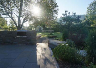FROMMER gartenreich - Gartenanlage mit Terrasse