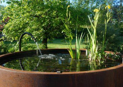 FROMMER gartenreich - Gartenanlage mit Wasserstelle